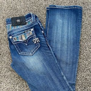 Bootcut Miss Me Jeans Size 26